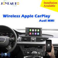 Marché secondaire OEM sans fil Apple CarPlay A1 A3 A4 A5 A6 A7 A8 Q2 Q3 Q5 Q7 MMI pour Audi voiture jouer Android Auto miroir caméra de recul