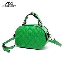 Neue Promi Tasche Aus Echtem Leder frauen Umhängetaschen Diamantgitter Frauen Messenger Bags Europe & US Mode Kleine Tasche Sac S15