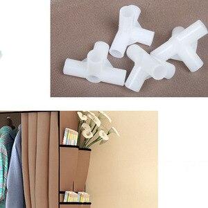 Image 4 - クリアランスセール diy ワードローブ不織布ワードローブクローゼット折りたたみポータブル衣類収納キャビネット寝室の家具