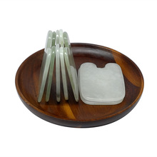 wholesale and retail Gold Ingot shaped guasha board beauty facial kit natural JADE