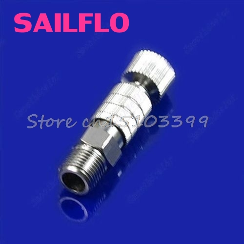 1PC Airbrush Quick Disconnect Release Coupling Adapter Connecter 1/8'' Fittings Part #G205M# Best Quality usb3 0 round type panel mounting usb connecter silver surface