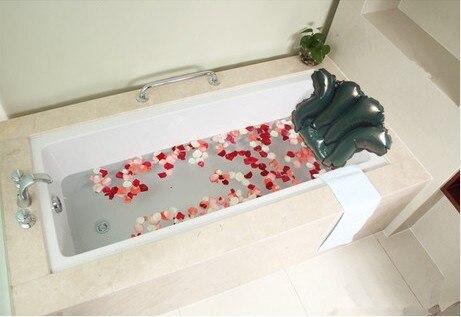 Hotel huishoudelijke badkamer bad kussen hoofdsteun zuignap