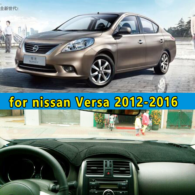 car dashmats car styling accessories dashboard cover for nissan Versa 2012 2013 2014 2015 2016