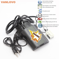 Bluetooth Link Car Kit With Aux in Interface & USB Charger for VW Bora Caddy Eos Fox Lupo Golf Golf Plus Jetta Passat Polo