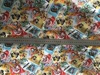 Algodão encantador Mickey Minnie Margarida Clássico história DIY tecido Roupas de tecido macio 100*110 cm