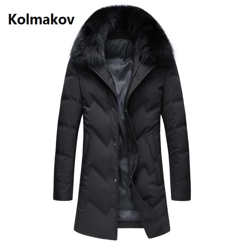 2018 winter New style Men's Casual   down   jacket mens thicken 90% white duck   down     coats   men jacket men,winter men's Warm   coat