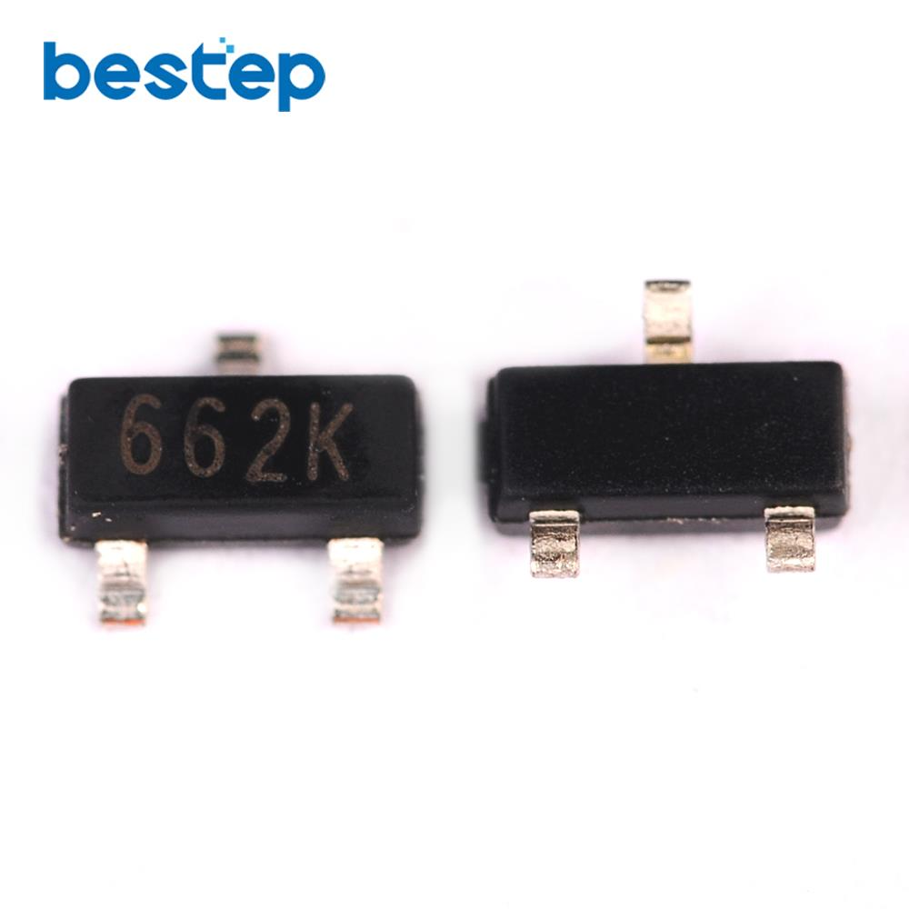 50PCS XC6206P332MR(<font><b>662K</b></font>) 3.3V/0.5A Positive Fixed LDO <font><b>Voltage</b></font> <font><b>Regulator</b></font> SOT-23 image