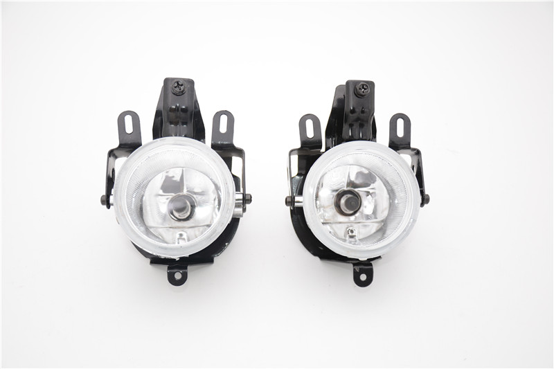 1Pair MN133758 Front Bumper Fog Light Fog Lamps With Bulbs For Mitsubishi Pajero V73 2003-2006