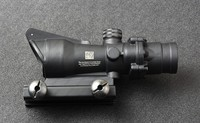 Tactical trijicon acog style 4x32 Rifles Scope with 20mm Picatinny Weaver Rail Mount Base M5858