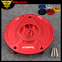 CNC Aluminum Motorcycle Keyless Fuel Tank Gas Cap Cover For Honda CBR1100 CBR400RR All Years