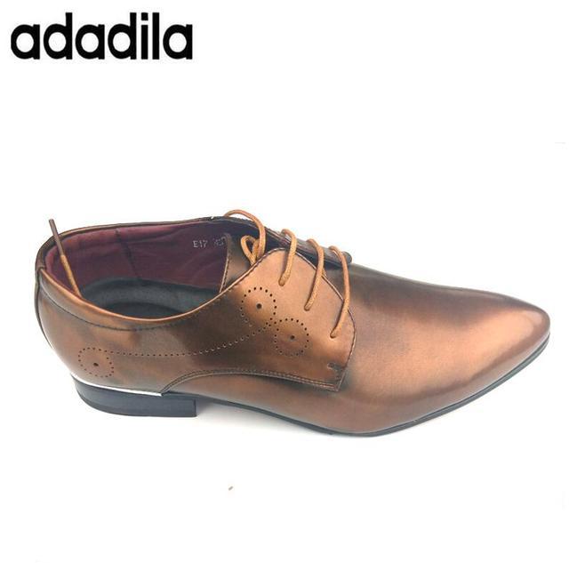 619194112ec Designer Men Black Dress Shoes Yellow Shadow Patent Leather Luxury Fashion  Round Toe Groom Wedding Shoes Men Oxford shoes