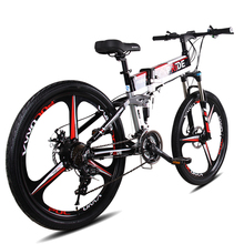 Electric bike 26inch Aluminum Fold electric Bicycle 400W Powerful bike 48V12A Lithium Battery 21Speeds Snow/City/Mountain ebike