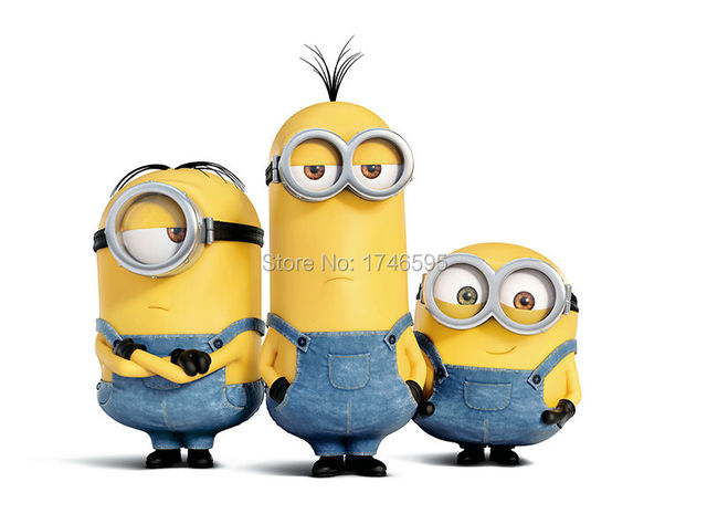18x24, 24x32inches moder home decoration Wall Art movie Minions ...