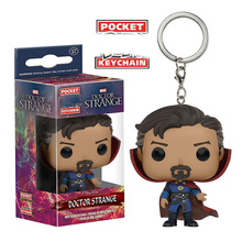 Funko Doctor Strange font b figure b font doll key chain Unisex Novel Gift 2018 Collectible