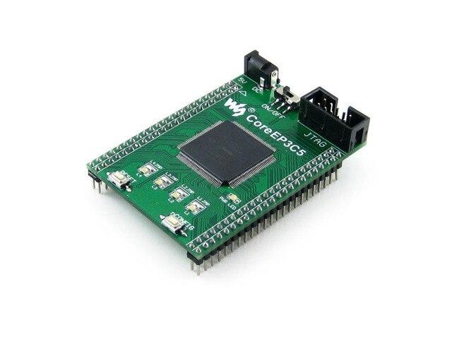 Altera Cyclone Board EP3C5 Chip EP3C5E144C8N ALTERA Cyclone III FPGA Evaluation Development Core Board with Full IOs =CoreEP3C5