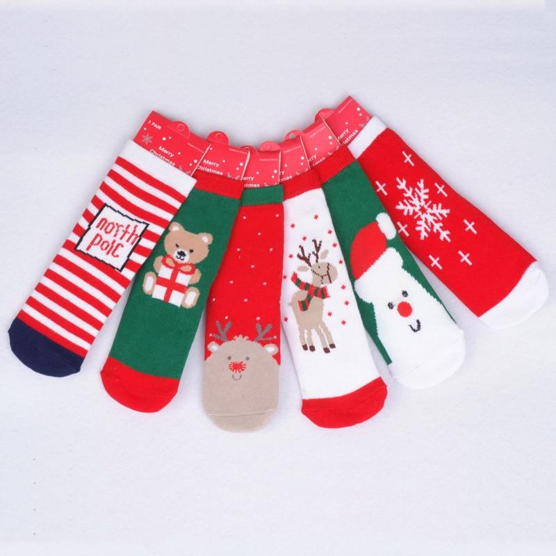 0-5T-Cotton-Cute-Christmas-Design-Baby-Socks-Slip-resistant-Cartoon-New-Born-Childrens-Christmas-Socks-6Style-4