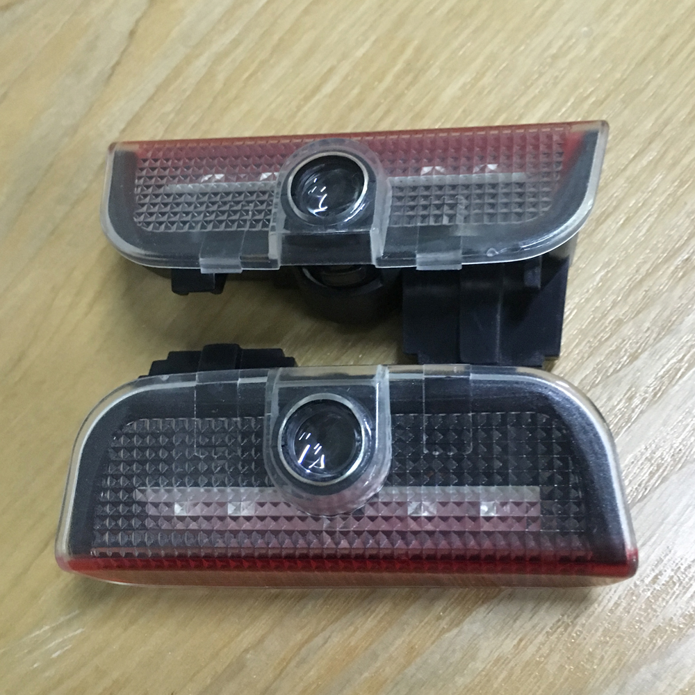 2pcs Brand Logo Car Door Welcome Light for Skoda 2009-2014 Superb Auto LED Laser Projector Ghost Shadow Warning Lamp Car Styling 1 pair auto brand emblem logo led lamp laser shadow car door welcome step projector shadow ghost light for audi vw chevys honda page 2