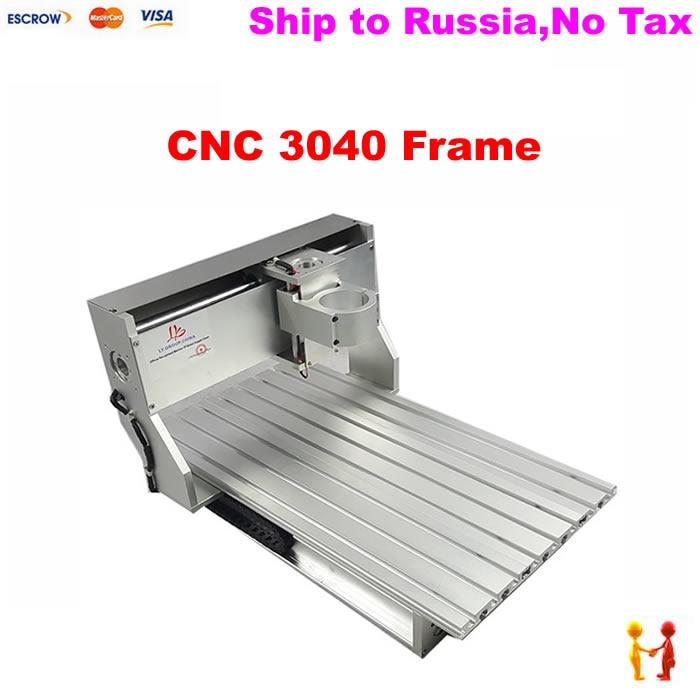 cnc machine spare parts 3040 diy cnc router frame kit
