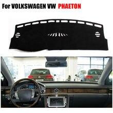 Приборной панели автомобиля охватывает мат для Volkswagen VW Phaeton все годы левой рукой дисков dashmat Pad тире охватывает аксессуары