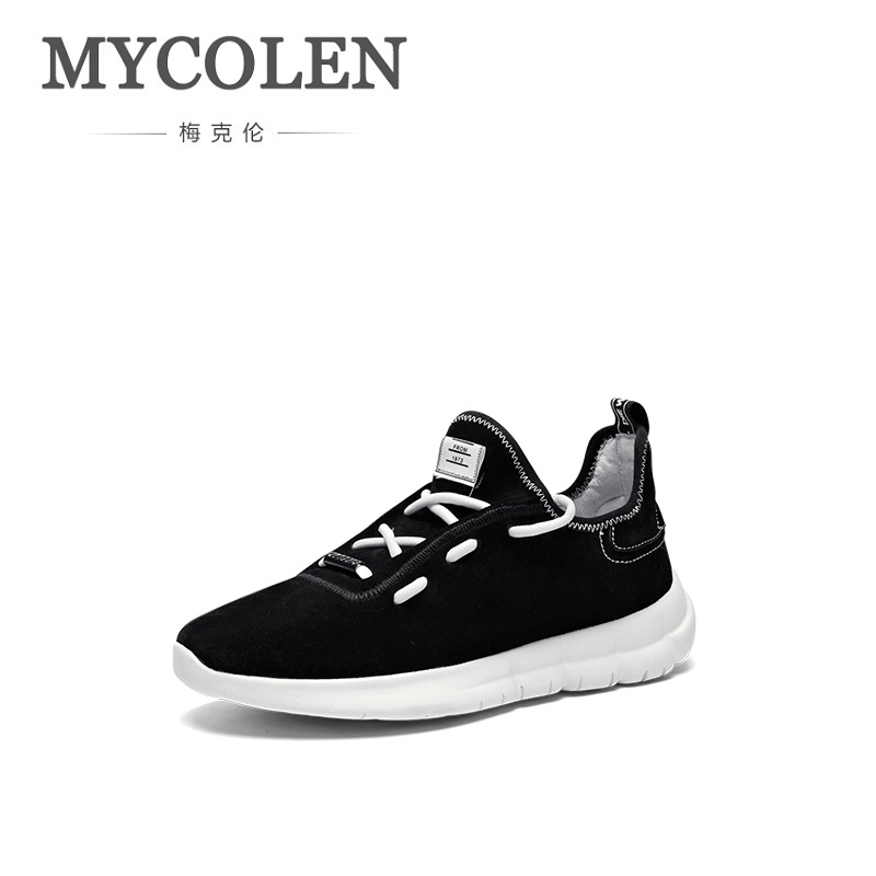 MYCOLEN Hot Cheaper Brand Men Shoes 2018 Lightweight Sneakers Breathable Lace-Up Casual Shoes For Comfortable Fashion Shoes Men mvp boy brand men shoes new arrivals fashion lightweight letter pattern men casual shoes comfortable lace up casual shoes men page 5 page 1 page 3 page 3