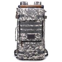Tactical Bag Outdoor Men and Women Shoulder Large Capacity 60L Waterproof Rucksack Computer Hiking Camping Bag