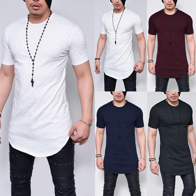 Men T Shirts Casual Loose Fashion tshirts Men s TShirt Solid Tops Streetwear Shirts For Men T-Shirt Designer Male Shirt homme