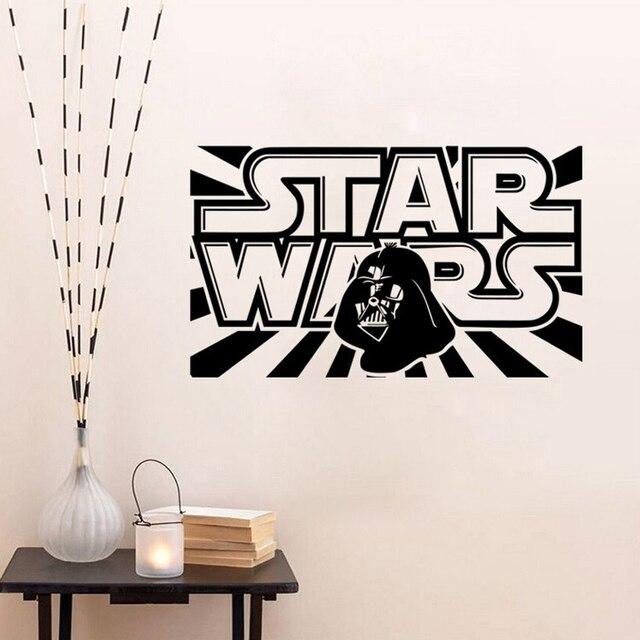 Star Wars Wall Decal With Darth Vader Boys Bedroom Vinyl Wall Sticker Decor Lego  Star Wars Part 58