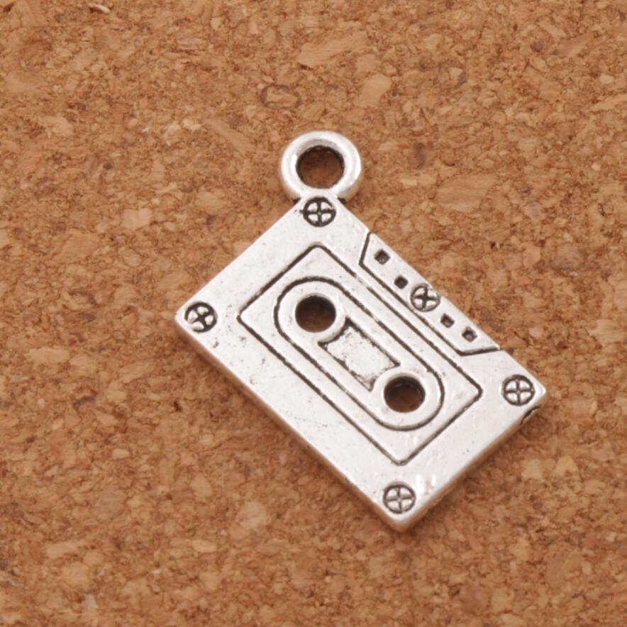 30pcs vintage alliage d/'argent gravé frère en forme de Coeur Charms Pendants 18*15*2mm
