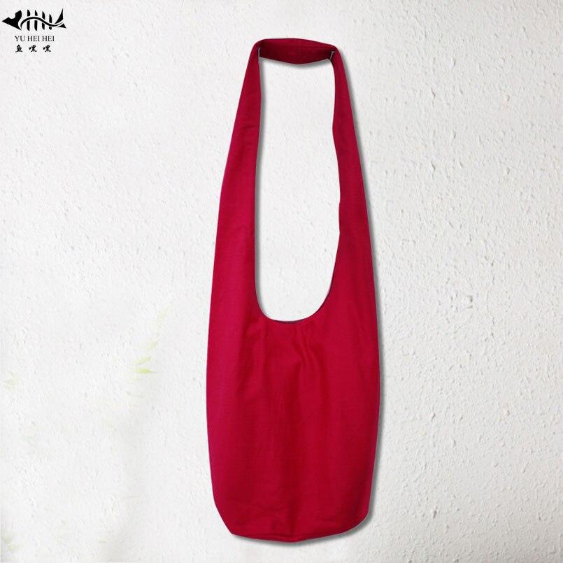 Sling Crossbody Messenger Bags Vrouwen Mannen Handtas Purse Bag Hoge Kwaliteit Katoen Canvas Schoudertas Reistassen Rode Gratis Verzending