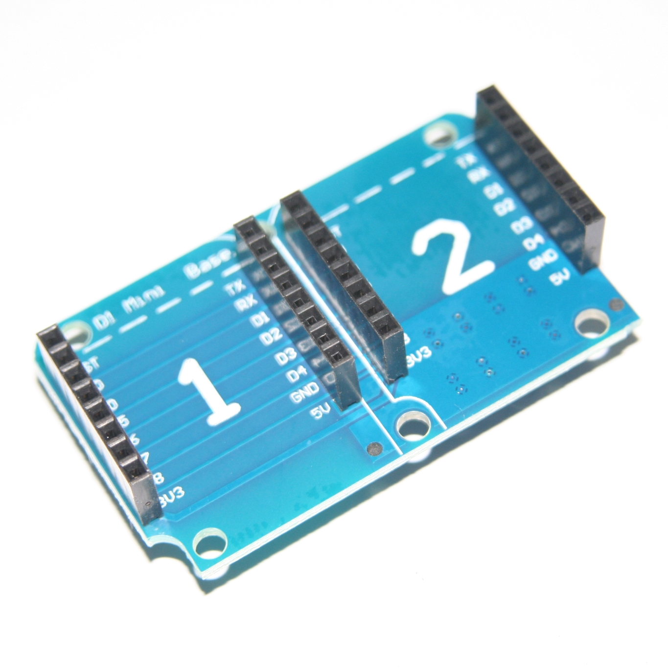 Youe Shone For Wemos D1 Mini Ws2812b Rgb Full Color Shield Board Integrated Circuits