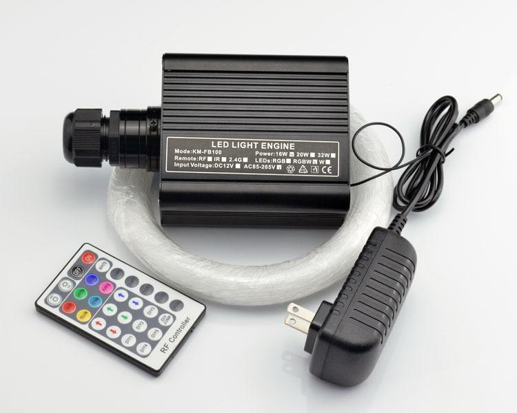 DIY RGBW LED plastik Fiber Optik Satar Tavan Dəsti İşıq 150pcs * - Ticarət işıqlandırması - Fotoqrafiya 4