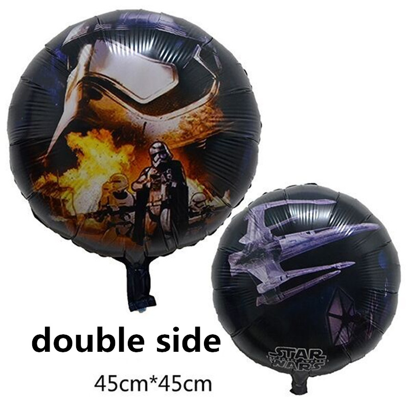25pcs/lot cartoon balloons star wars balloons round bubble balloons for kids18 i