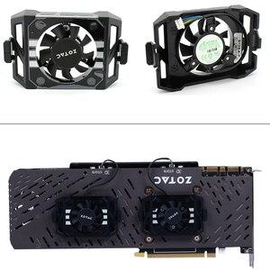 Image 1 - New Original GA41S2L DC12V for ZOTAC GTX1060 1070TI 1080 TI PLUS OC Graphics card cooling fan Video card backplane fan