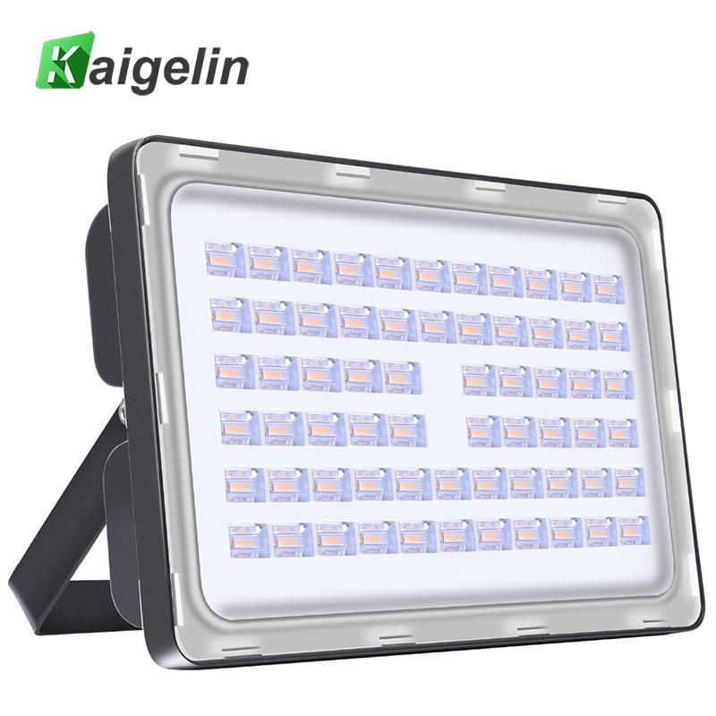 Kaigelin 200W LED Flood Light AC 110V 220V 24000LM Vattentät LED Floodlights Reflektor LED Spotlight Utomhus LED Street Light