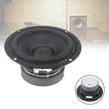 4.5 Inch 30W Rubber DIY Speakers Unit Waterproof Midrange Woofer Low Frequency with DIY Bluetooth Loud Speaker for Car Audio недорого