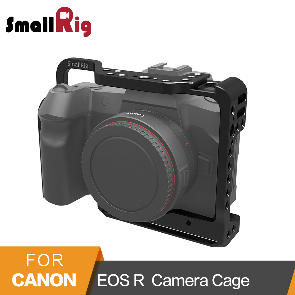 SmallRig Cage for Canon EOS R Form fitting Cage With Cold Shoe Mount Built-in Arca Swiss Baseplate Arri Locating Holes - 2251 form fitting solid cami dress