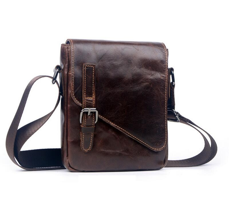 Hot sale New fashion genuine leather men bags small shoulder bag men messenger bag crossbody leisure bag   JIE-060 memunia new arrive hot sale genuine