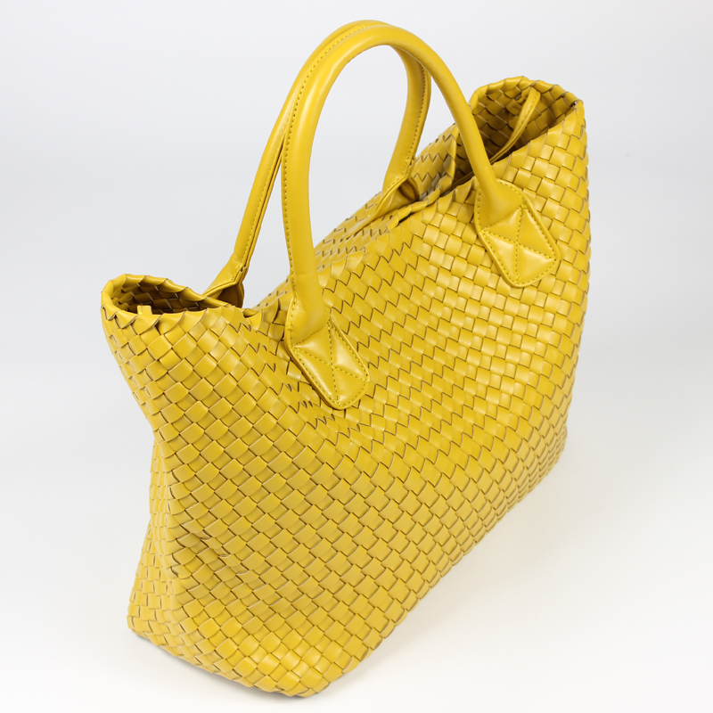 NEW Fashion Famous Brand PU Leather Woven Shoulder Bags For Office Hand Bag Women High Quality Designer Purses And Handbags