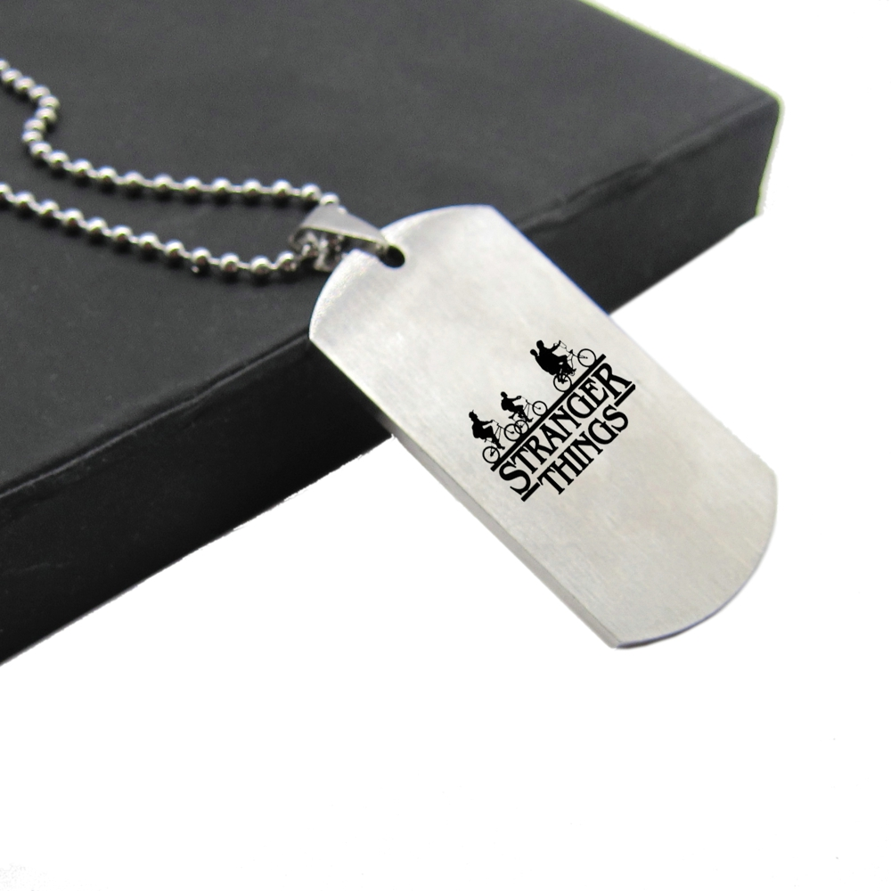 Stranger things stainless steel necklace bestseries shop for What metal is best for jewelry