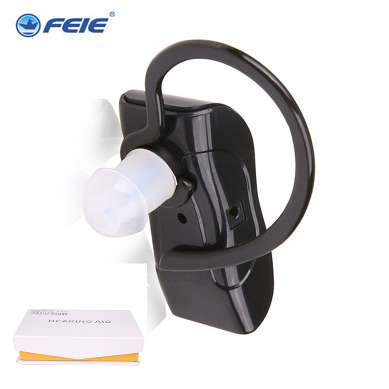 Cheap Rechargeable Headphones Hearing Aid S-217 Behind Ear Plugs Sound Mini Portable Ear Machine Drop Shipping guangzhou feie deaf rechargeable hearing aids mini behind the ear hearing aid s 109s free shipping