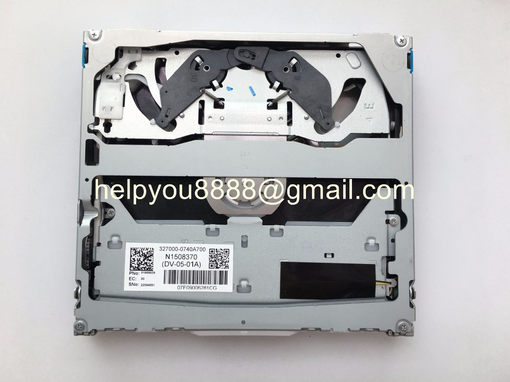 Free shipping 100% new Fujitsu Ten DV 05 01A DV 05 DVD loader navigation  mechanism for Bmnw Audi VW Mercedes car audio GPS-in Car Multimedia Player