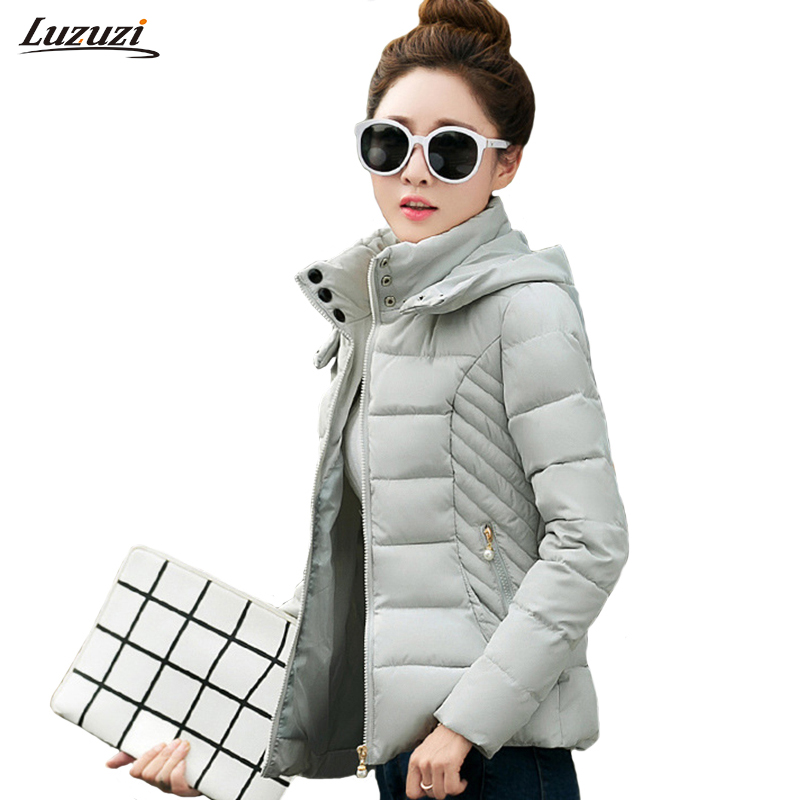 1PC Winter Jacket Women Winter Coat Women Cotton Coats Short Jackets Abrigos Mujer Invierno Manteau Femme Hiver Z1551 winter jacket men coat mens winter jackets and coats cotton manteau homme hiver abrigos hombres invierno parka hot sale 02