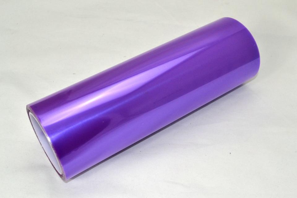 Image 2 - 0.3*10m Auto Headlight Tint Film Vinyl Fog Lamp Light Transparent Car Headlight Taillight Tint Vinyl Film Sticker Purple-in Car Stickers from Automobiles & Motorcycles
