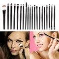 New Arrival  20 pcs Professional Makeup Beauty Cosmetic Blush Black Brushes Kits Hot Selling