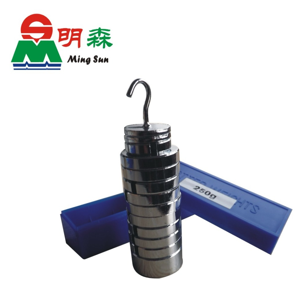 Physical Experimental Apparatus Computation Weigh Metal Slotted Weight 250g Teaching Apparatus Free Shipping