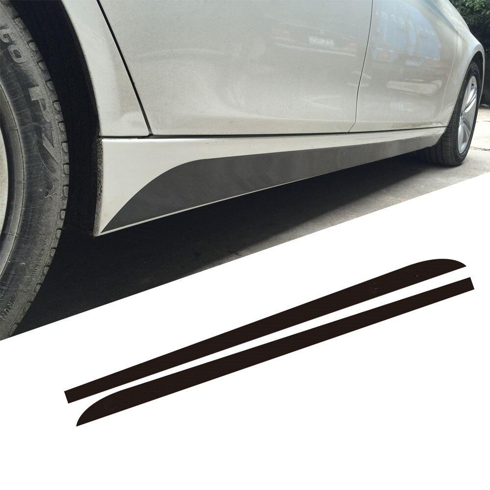 5D Carbone Nouveau M Performance Seuil Côté Rayures Jupe autocollants pour BMW 3 5 Série F30 f31 x5 f15 f10 f11 e60 e61 f22 f23 e90 f32