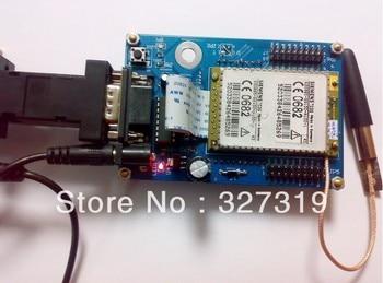 цена на GSM SMS module board for TC35 UART/232 +Source code
