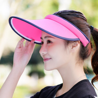 2017 Chapeau Sombreros Air Cap Outdoor Sunscreen Breathable Running Whitening Summer Big Eaves Without Lovers And