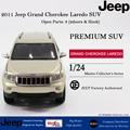 Maisto 2011 Jeep Grand Cherokee Laredo SUV 1:24 scale diecast model gold car model