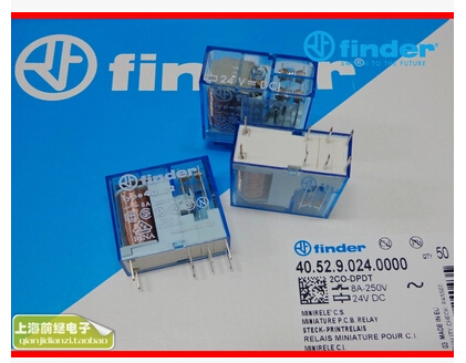 HOT NEW 40.52.9.024.0000/40.52 24VDC 40.52-24VDC DC24V 8A 250V finder DIP8